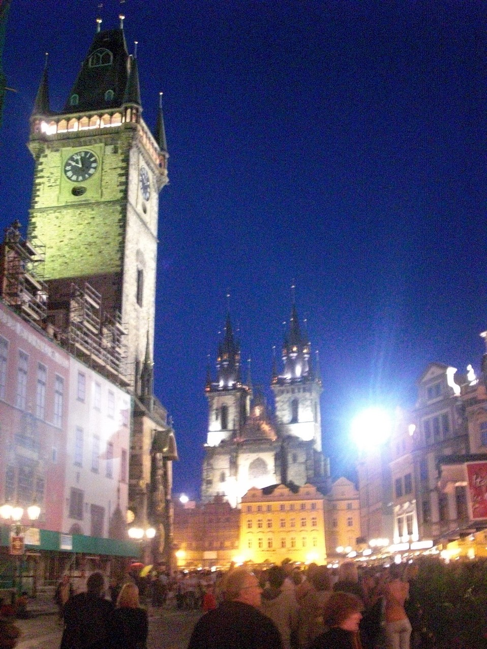 Prague night
